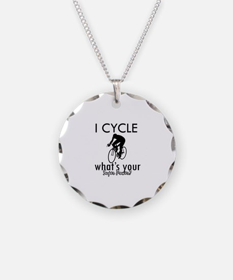 I Cycle Necklace