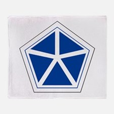 Fifth army Throw Blanket