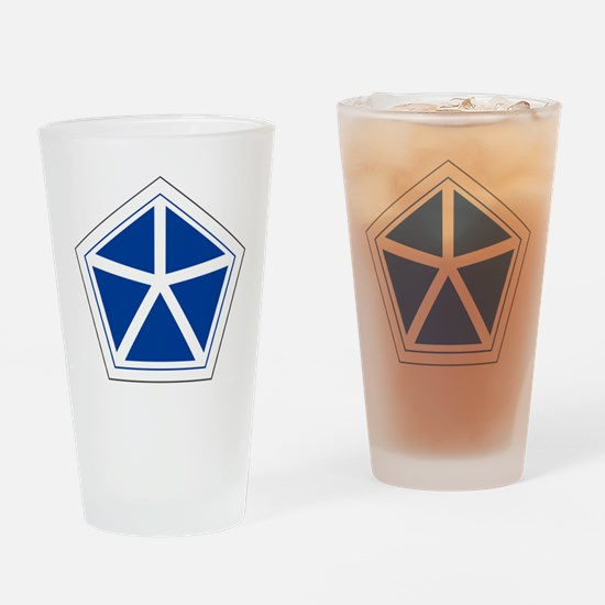 Unique Fifth army Drinking Glass
