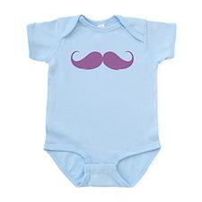 Moustache Infant Bodysuit