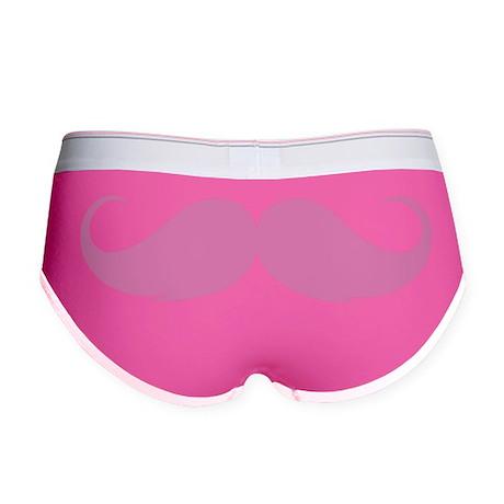 Moustache Women's Boy Brief
