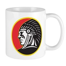 Native American Indian Mug