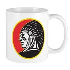 Native American Indian Mug