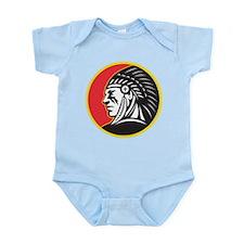 Native American Indian Infant Bodysuit