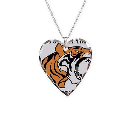 lees summit football Necklace Heart Charm
