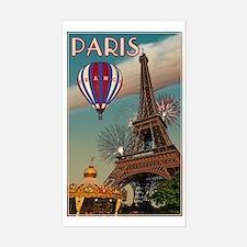Vintage Eiffel Tower Bumper Stickers