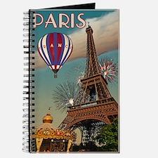 Vintage Eiffel Tower Journal