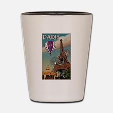 Vintage Eiffel Tower Shot Glass
