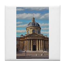 Paris - Biblio Mazarine Tile Coaster