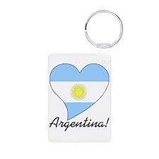 Heart Argentina (World) Keychains