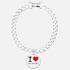 I Heart (personalized) Bracelet