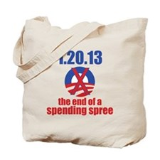 the end of a spending spree Tote Bag