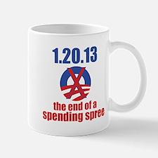 the end of a spending spree Mug