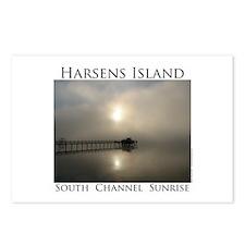 Harsens Island Sunrise 2 Postcards (Package of 8)