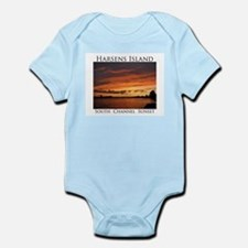 Harsens Island Sunset 2 Infant Bodysuit