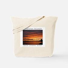Harsens Island Sunset 2 Tote Bag