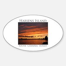 Harsens Island Sunset 2 Decal