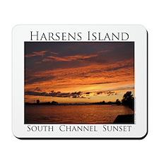 Harsens Island Sunset 2 Mousepad