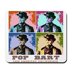 Pop Black Bart Mousepad
