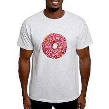 Skull &Bone Sprinkle Donut T-Shirt