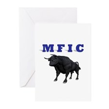 MF IN CHARGE Greeting Cards (Pk of 20)