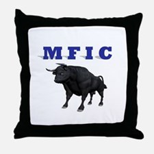 MF IN CHARGE Throw Pillow