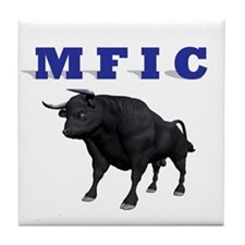 MF IN CHARGE Tile Coaster