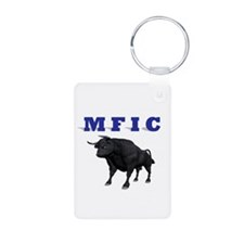 MF IN CHARGE Keychains