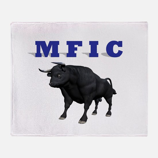 MF IN CHARGE Throw Blanket