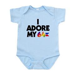 I Adore My 64 (light items) Infant Bodysuit