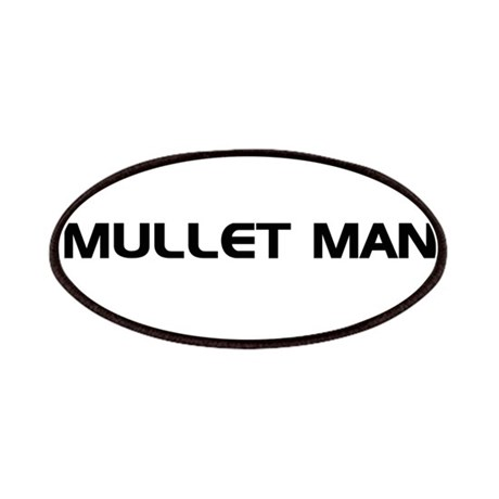 Mullet Man!!! Patches
