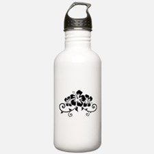 Hawaiian flowers Water Bottle