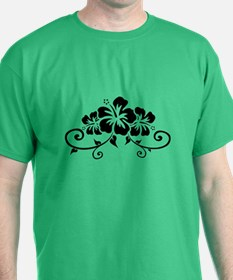 Hawaiian flowers T-Shirt