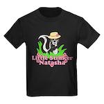 Little Stinker Natasha Kids Dark T-Shirt