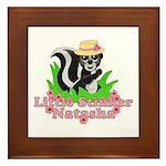 Little Stinker Natasha Framed Tile
