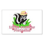 Little Stinker Natasha Sticker (Rectangle 10 pk)