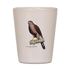 Cooper's Hawk Shot Glass