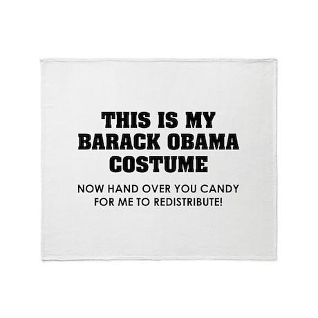 Barack Obama costume Throw Blanket