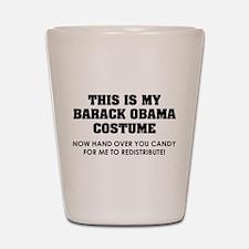 Barack Obama costume Shot Glass