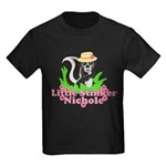 Little Stinker Nichole Kids Dark T-Shirt