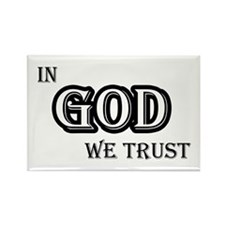 In God We Trust Rectangle Magnet