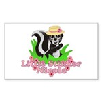 Little Stinker Nicole Sticker (Rectangle 10 pk)