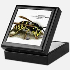 Common Yellowjacket Wasp Keepsake Box