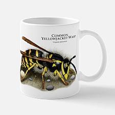 Common Yellowjacket Wasp Mug