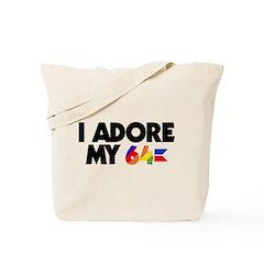 I Adore my 64 Tote Bag