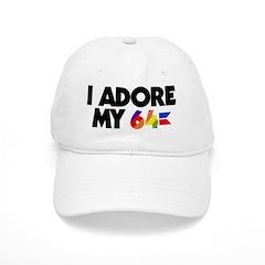 I Adore my 64 Baseball Cap