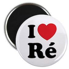 I Love Ile de Ré Magnet