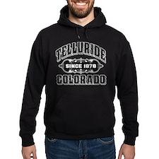 Telluride Since 1878 Black Hoodie