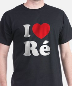 I Love Ile de Ré T-Shirt