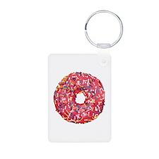 Skull &Bone Sprinkle Donut Keychains